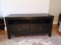 IKEA Hemnes Dark Wood TV Unit