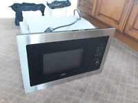 Integrated Microwave Oven - Stainless Steel