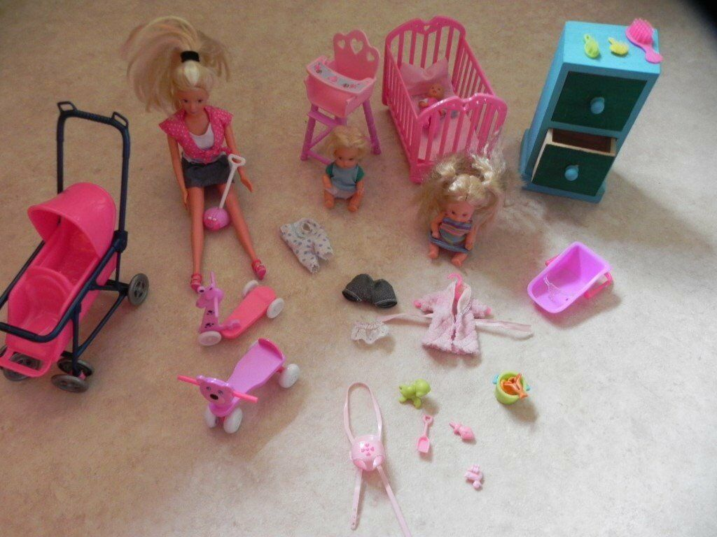 Barbie baby set with pram and accessories.   in Poringland ...