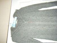 Ladies Dark Grey Cardigan size 10/12
