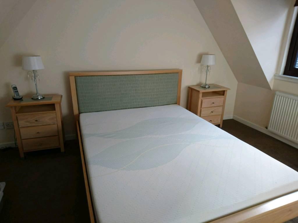 Oak Bedroom Furniture King Size Bed Dressing Table