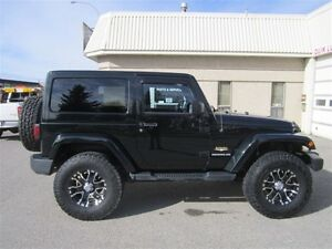 2012 Jeep Wrangler Sahara - LIFTED A/M RIMS AND TIRES