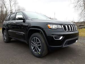 2018 Jeep Grand Cherokee Limited +V6, Toit, Hitch+