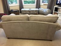 LARGE NEXT 3 SEATER SOFA ONLY 1 YEAR OLD