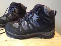 Ladies Karrimor Waterproof Walking Boots - Used twice. BARGAIN quick sale £29 ono