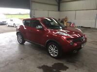 2012 Nissan Juke 1.5 dci premium 1 owner fsh excellent condition guaranteed cheapest in country