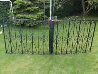 Vintage 1930's wrought iron gates