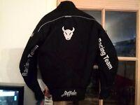 new buffalo motorbike jacket in size xs