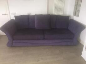 DFS 2 x 4 Seater Fabric Sofa's For Sale