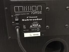 Mission Subwoofer