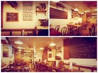 Small Cafe looking for part time kitchen porter (20hrs/week)