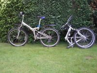 Samchuly Haro DX folding mountain bikes