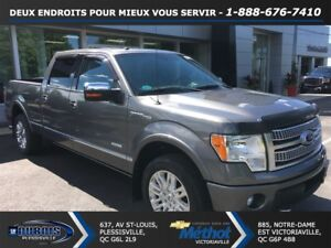 2011 Ford F-150 PLATINUM + GPS + TRES PROPRE