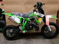 IMR racing 50cc motocross bikes