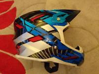 Fly racing size medium full face helmet