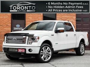 2013 Ford F-150 Limited+Nvigation+Camera+22 inch rims+Sunroof