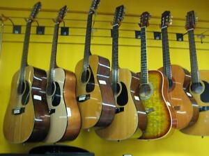 Guitar's Used Electric, Acoustic, Bass