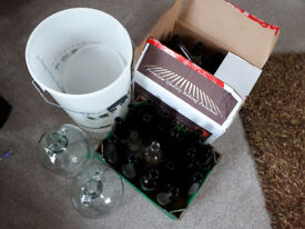 Demijohns and homebrew gear