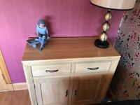 Small sideboard in excellent condition, purchased from oak furniture land. Hardly used.