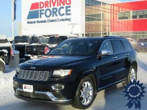 2014 Jeep Grand Cherokee Summit 5 Passenger, 52,731 KMs, 5.7L V8
