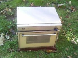 caravan or motorhome gas oven