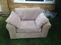 Sofa bed and armchair - free
