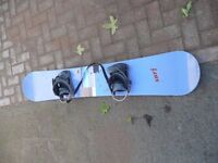 Snow Board used once