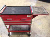 Bluepoint by snap on tool trolley