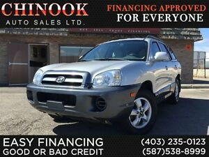 2005 Hyundai Santa Fe GL 5-Speed Manual,Power Windows & Locks