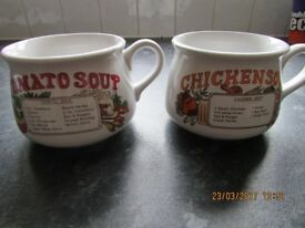 Soup Bowls x 2