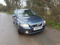 VOLVO V50 ESTATE LOW MILAGE NEW MOT GOOD CONDITION