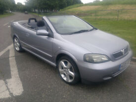 VAUXHALL ASTRA CABRIOLET ONLY 42,000 MILES