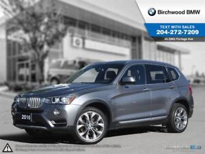 2016 BMW X3 Xdrive28i Premium Package Enhanced! Local Car! 1 O