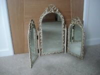VINTAGE DRESSING TABLE MIRROR