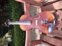Violin New Made to specification.