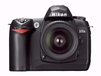 Nikon D70S + 18-70mm Lens