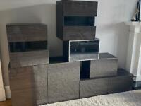 IKEA storage units - media TV display /kitchen / garage