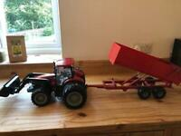 Kids large toy tractor