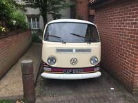 VW Camper converted to sell Coffee