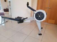 Concept 2 Model E Rower + Slider + Accessories