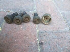 Genuine Mini Locking Wheel nuts