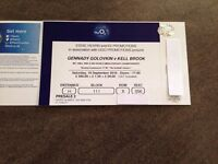 Kell Brook v Gennady Golovkin - 1 Ticket in Block 111