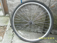Alloy FRONT Bicycle Wheel. 26 x 1.5 - 1.95 (559 x 21C).
