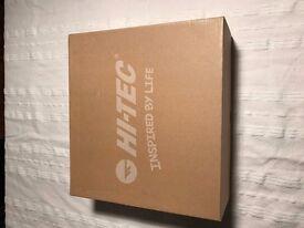 Hi-Tec Men's Moreno Walking Boots / Shoes UK Size 7 Boxed, New BNWT RRP £79.99