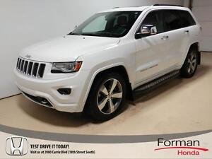 2014 Jeep Grand Cherokee Overland - Gorgeous! Diesel | Loaded...