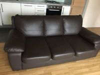 3 seater and 2 seater Faux Leather
