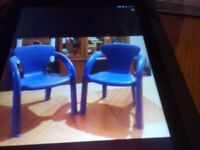 X2 plastic chairs for sale