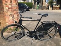 Mens Black Dutchie Bike - Fixie