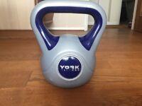 York Fitness Vinyl Kettlebell 12kg