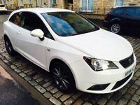 2014 Seat Ibiza Toca 1,4 petrol 86 bhp, new MOT , low mileage, £3950